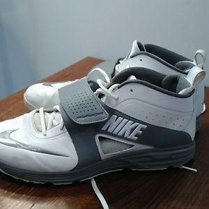 Nike Lunarlon Lacrosse Athletic Shoes Size 14